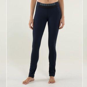 Lululemon City Pulse Yoga Pant Inkwell Navy Blue 6